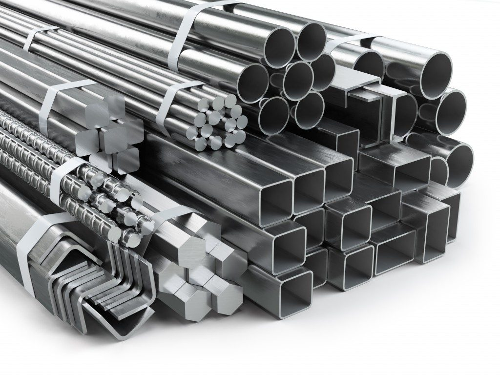 Different steel bars