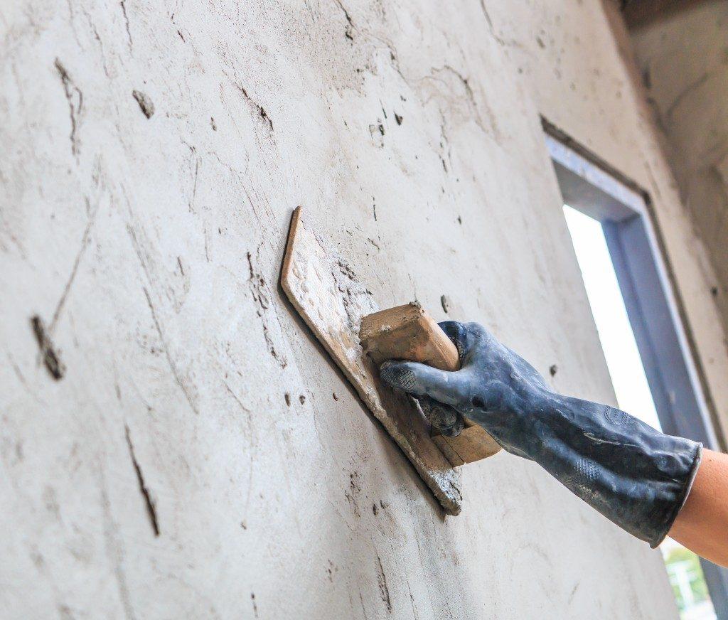 concrete plasterer