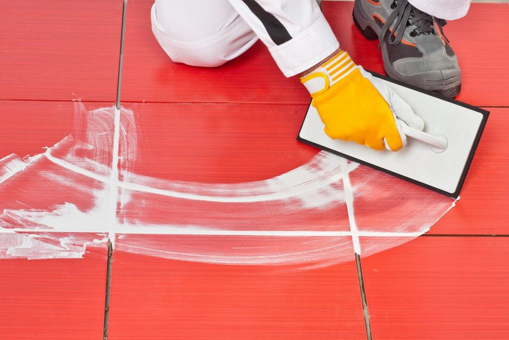 Grout Sealing Process