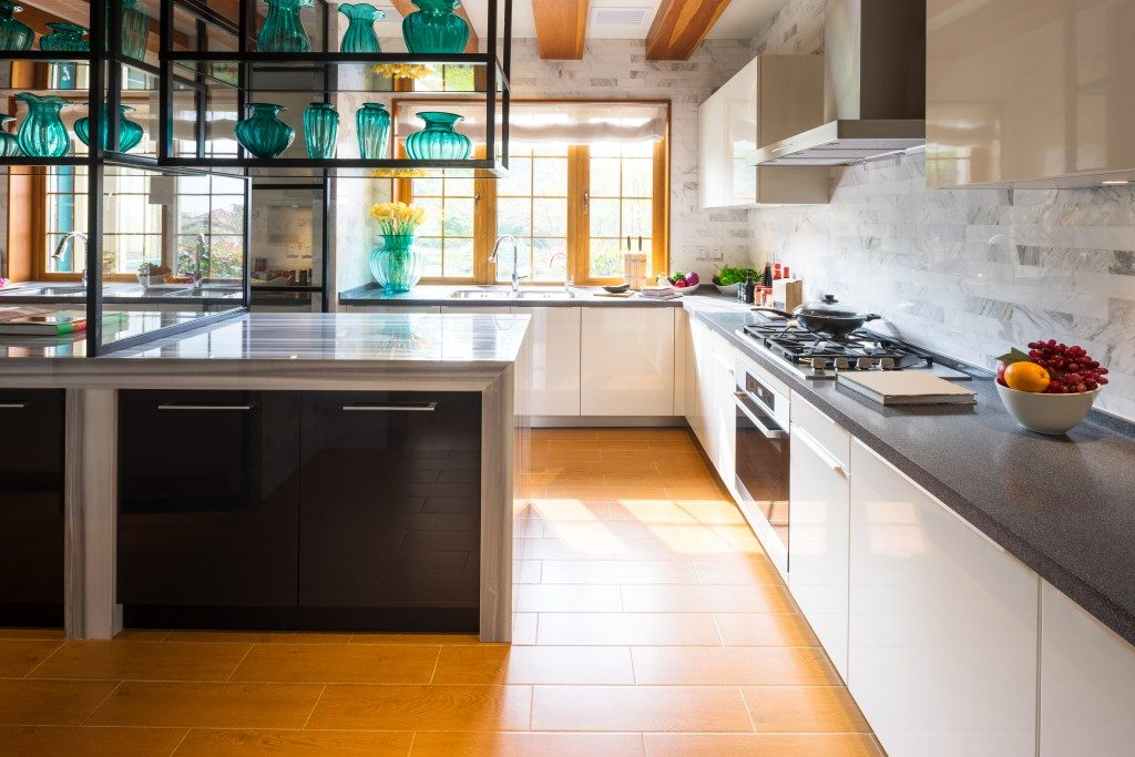 interior design of kitchen