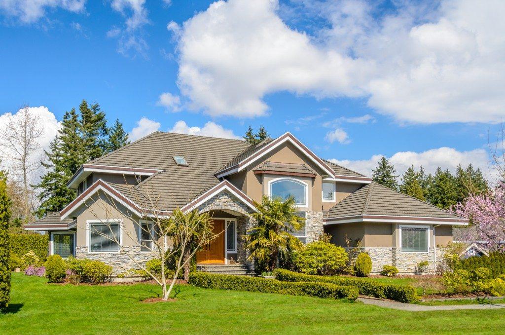 large suburban home